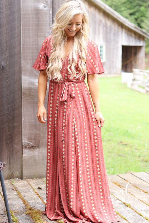 *Final Sale* Sierra Boho Chic Maxi Dress