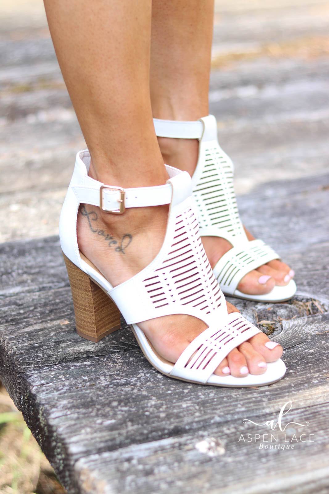 River Booties (White)