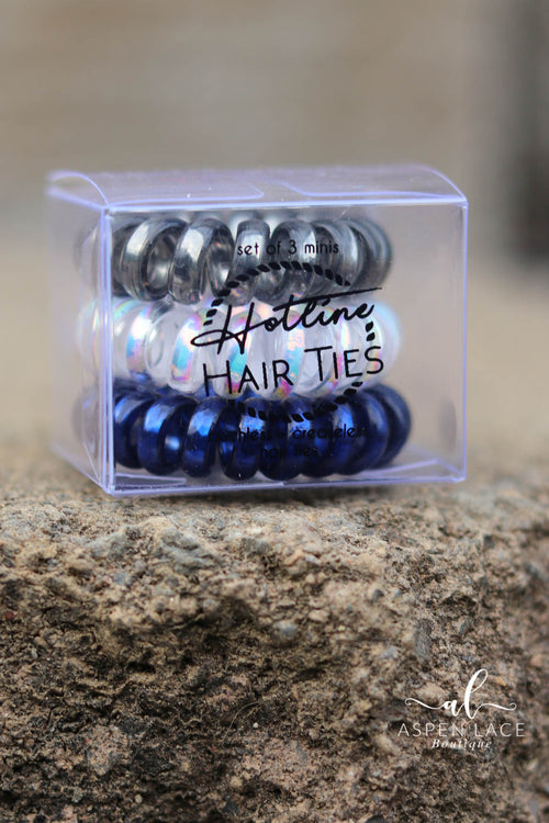 Hotline Hair Ties Set (Rainy Daze Mini's)