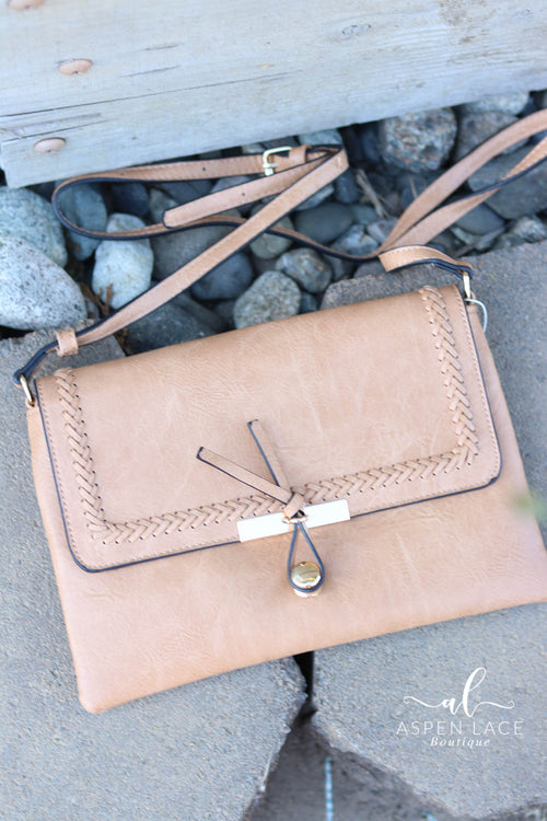 Vanessa Crossbody Purse (Tan)