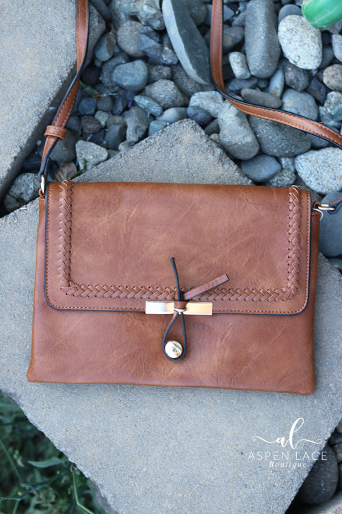 Vanessa Crossbody Purse (Brown)