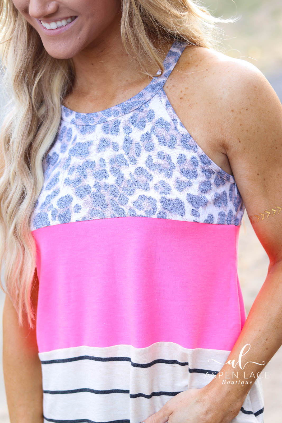 Penny Tank (Neon Pink)