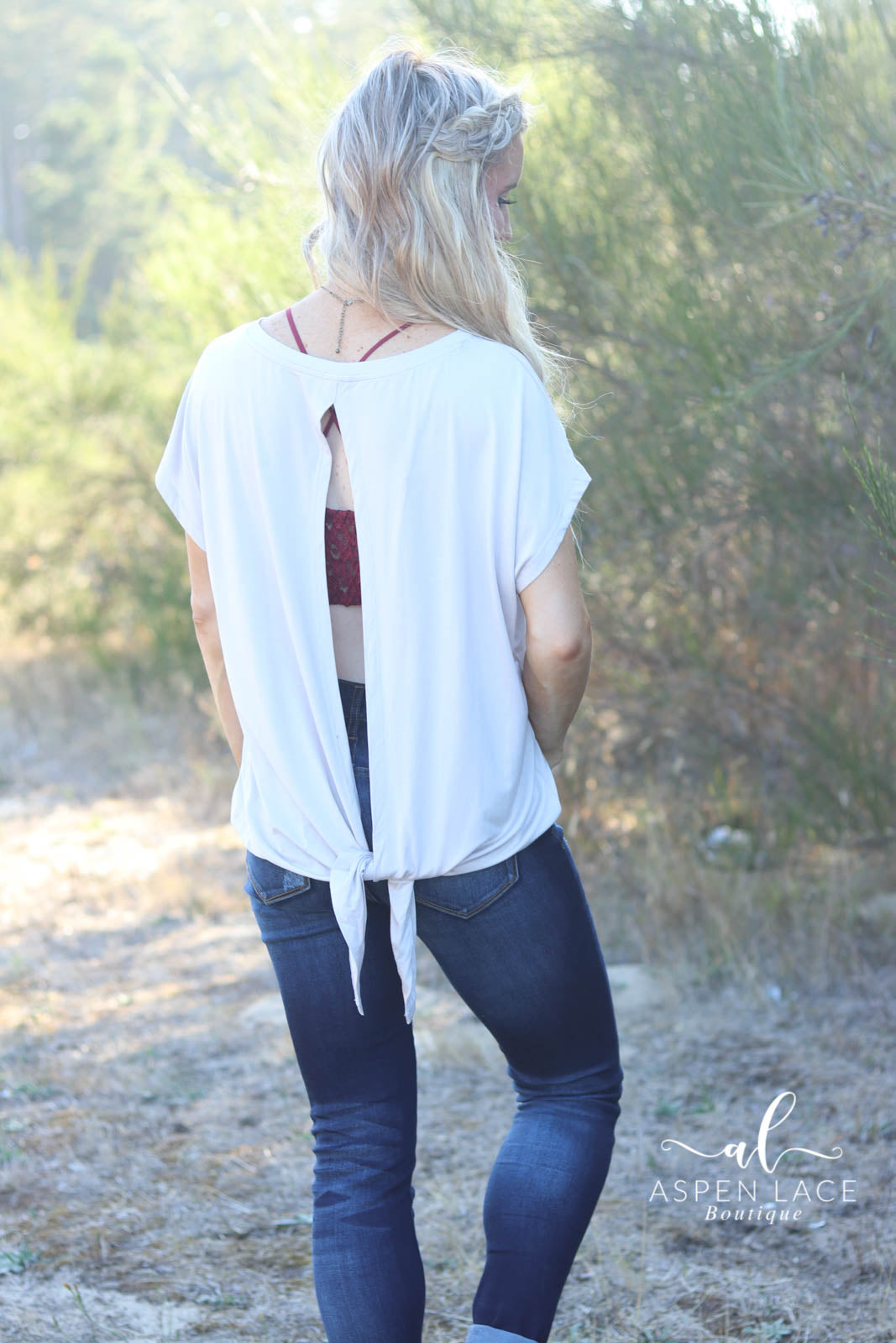 Kassie Open Back Top (Shell)