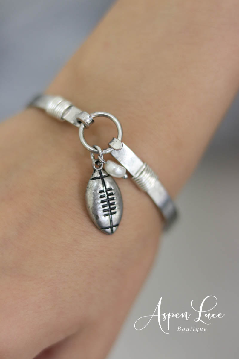 Football Cuff (Multiple Colors)