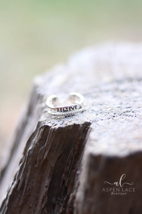 Inscription Rings (Silver)