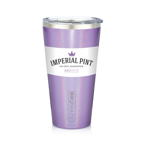 Imperial Pint by BruMate® (Glitter Violet)