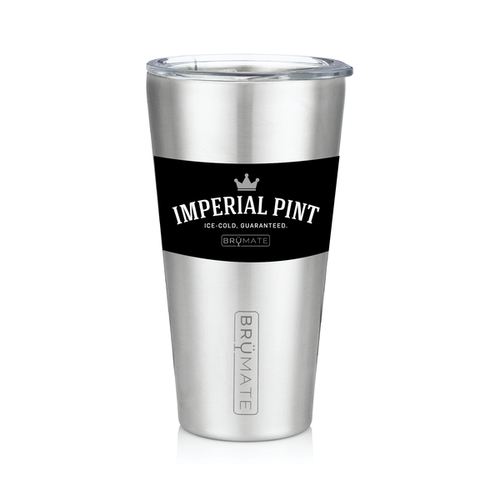 Imperial Pint by BruMate® (Stainless)