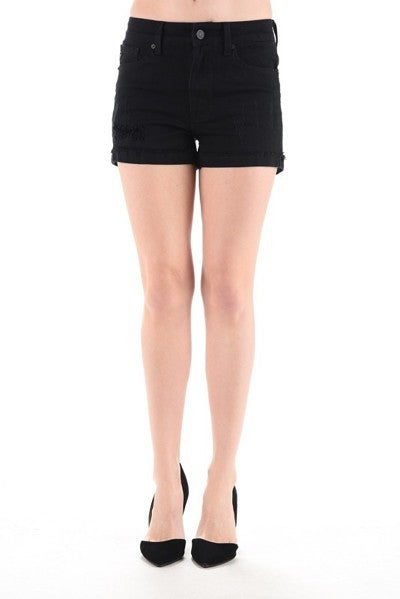 *Final Sale* Jessica KanCan Shorts (Black)