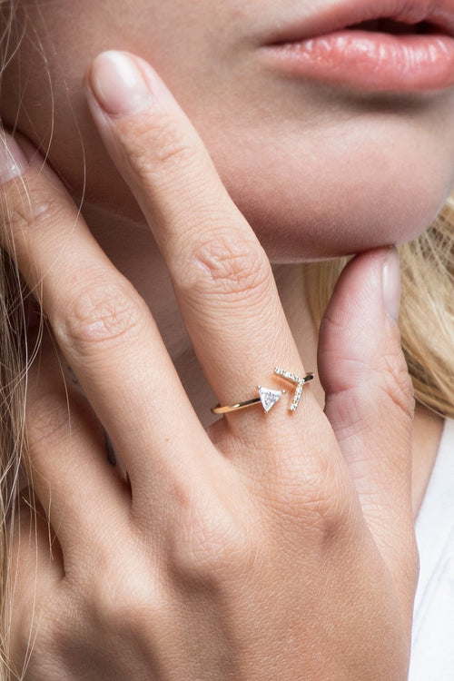 Arrow Ring (Gold)