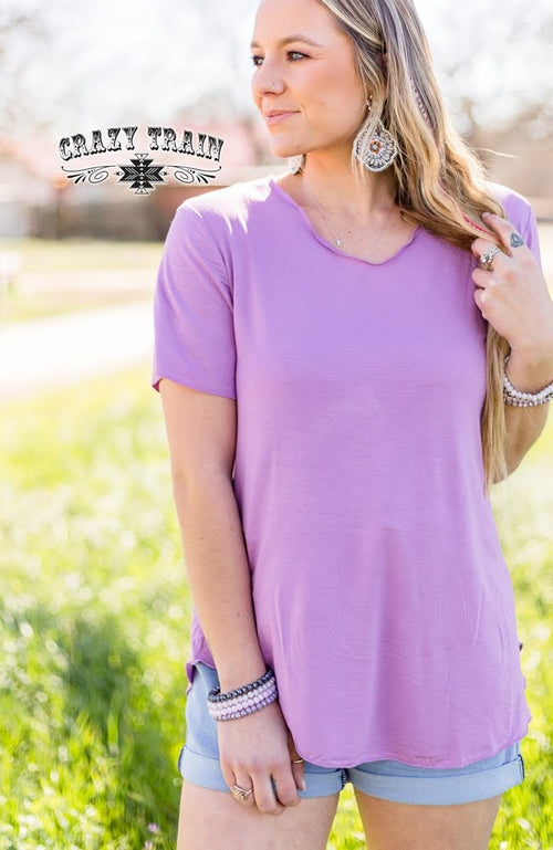 Butter Basic Tee (Lavender)