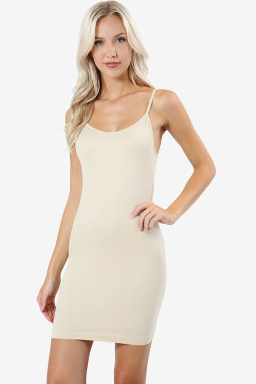 Back to Basics Bodycon Cami (Taupe)
