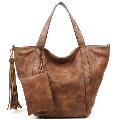 The Amelie Tote (Brown)