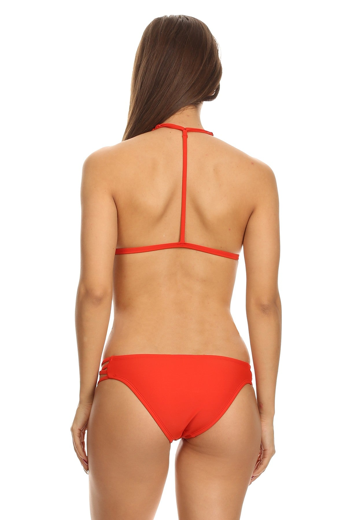*Final Sale* Bethani Two Piece Bikini (Red)