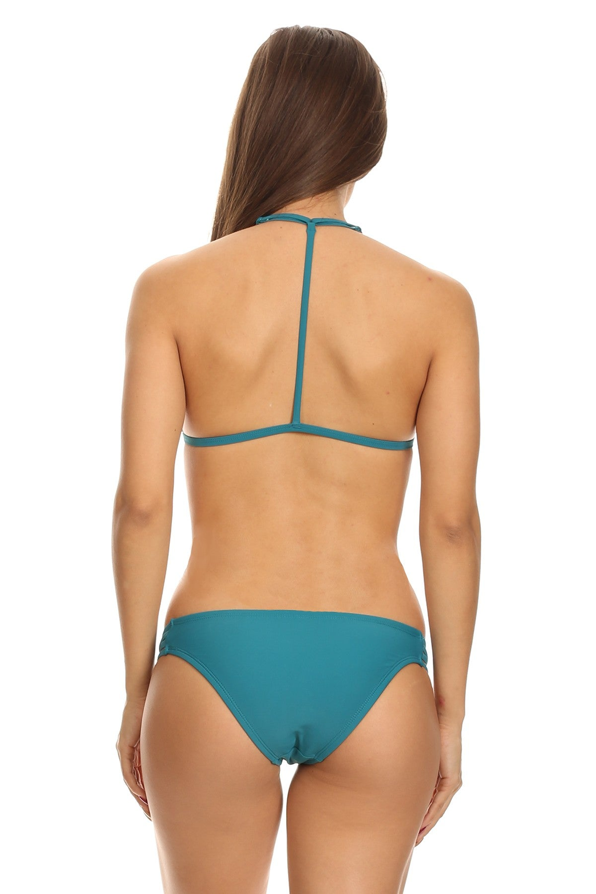 *Final Sale* Bethani Two Piece Bikini (Teal)