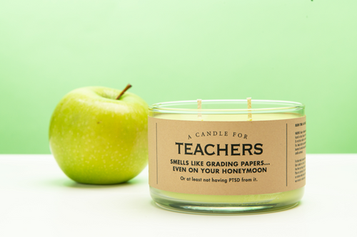 Teachers Soy Candle