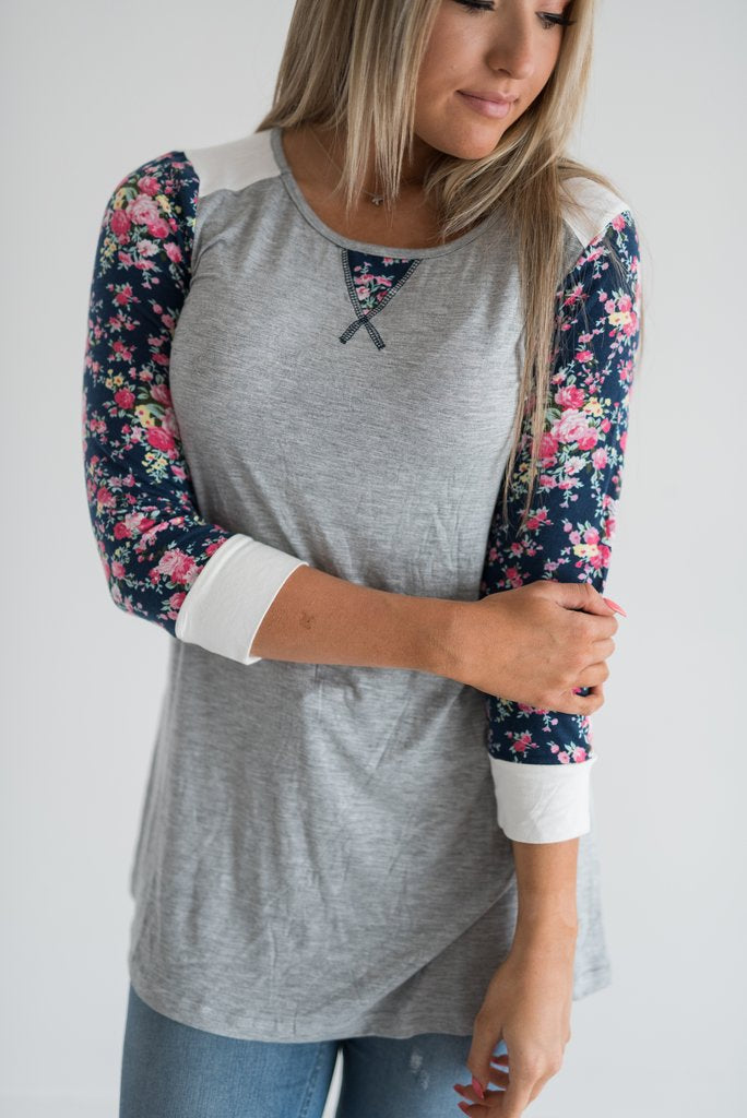 Ampersand Back to Basics Floral Tee