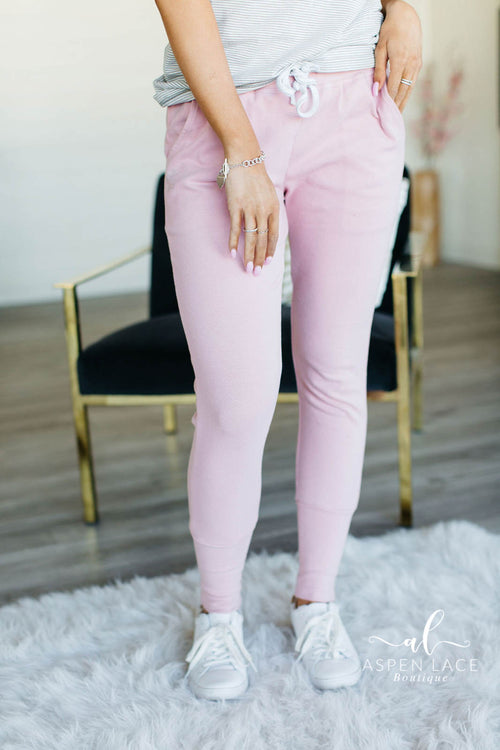 Ampersand Perfect Joggers (Pink)