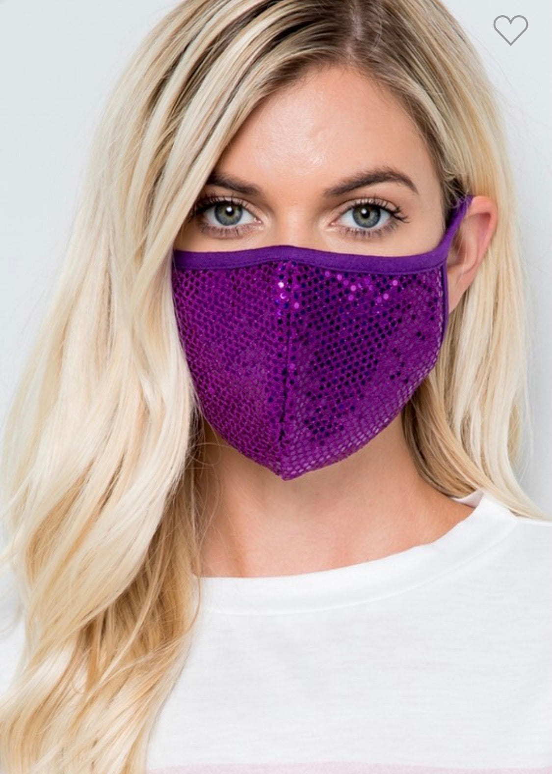 Sequin Masks (Multiple Colors)