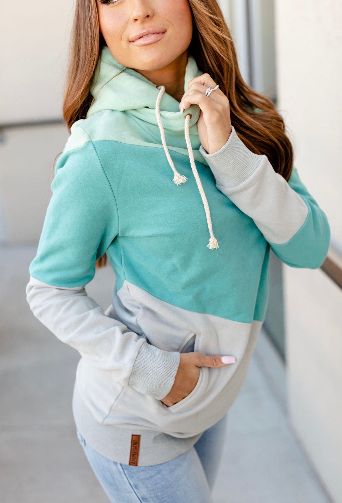 SingleHood Sweatshirt (Sea Glass)
