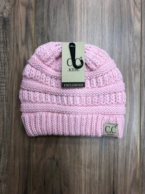 Kids Classic CC Beanies (Multiple Colors)
