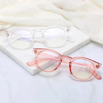 Round Blue Light Glasses (Multiple Options)
