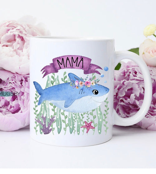 Mama Shark Coffee Mug