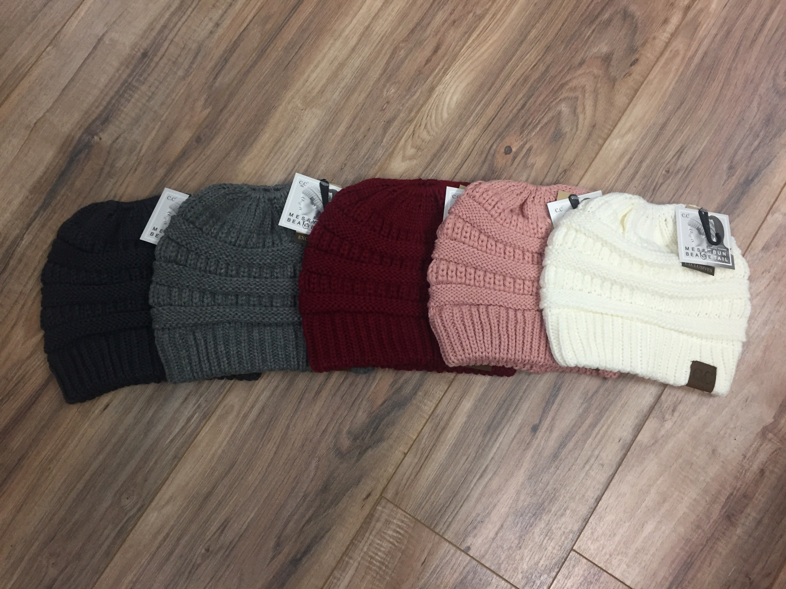 Classic CC Beanie Tail (Multiple Colors)