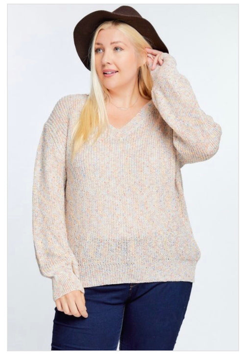 Tara Sweater (Cream)