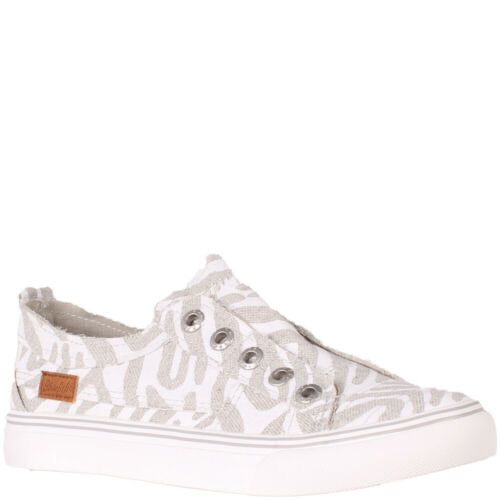 Blowfish Play Sneakers (Zebra Linen)