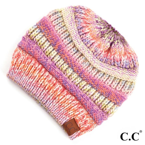 Multi Color CC Beanie Tails (Multiple Colors)