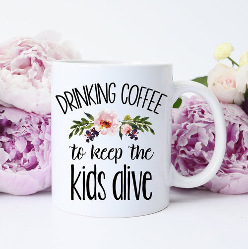 Keep The Kids Alive Coffee Mug