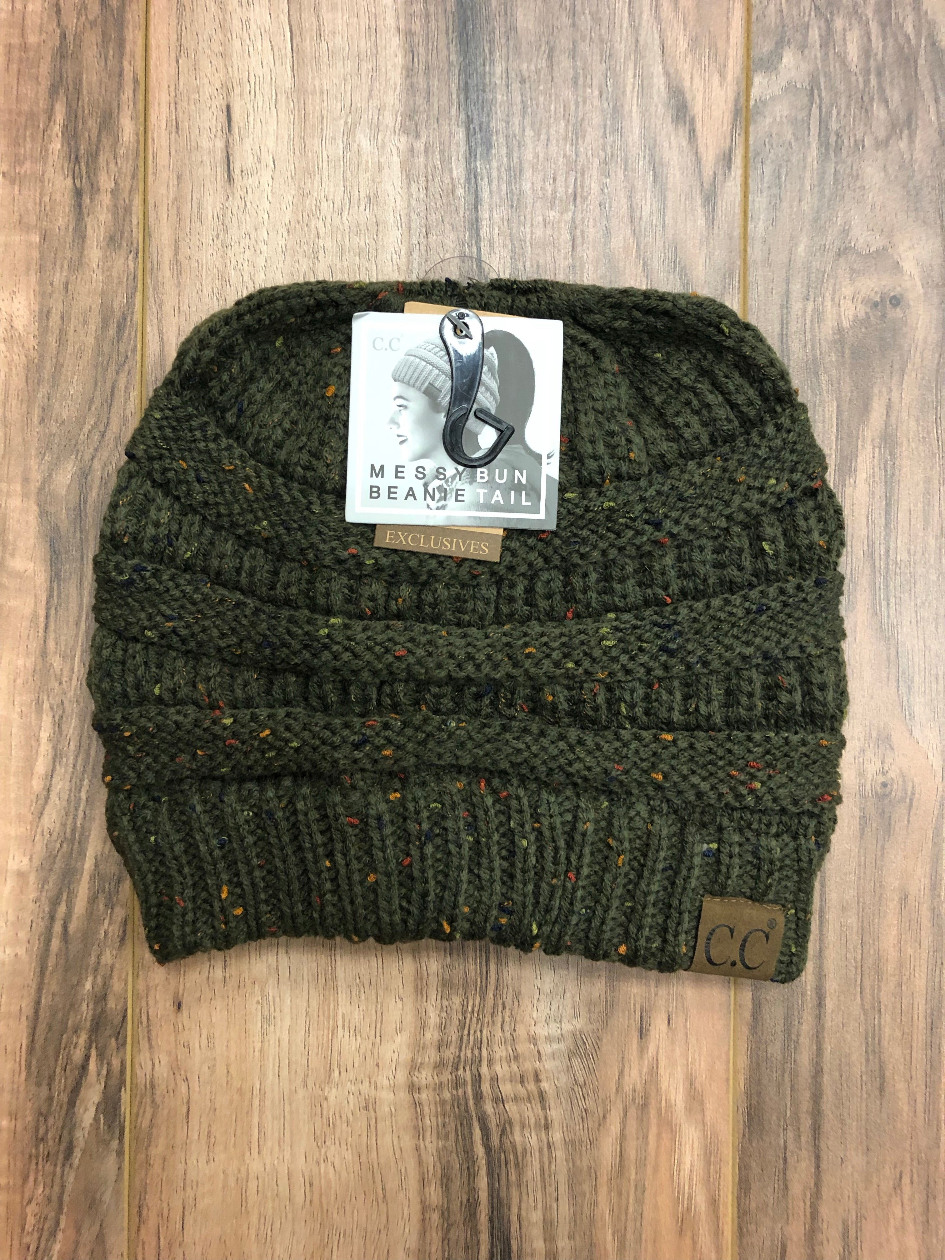 Flecked CC Beanie Tails (Multiple Colors)
