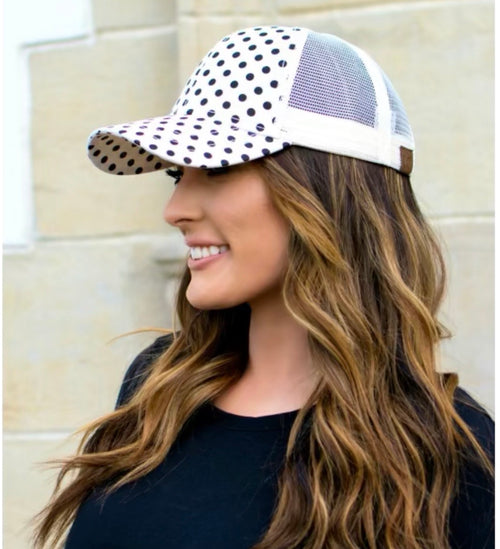 CC Polka Dot Hats (Multiple Colors)