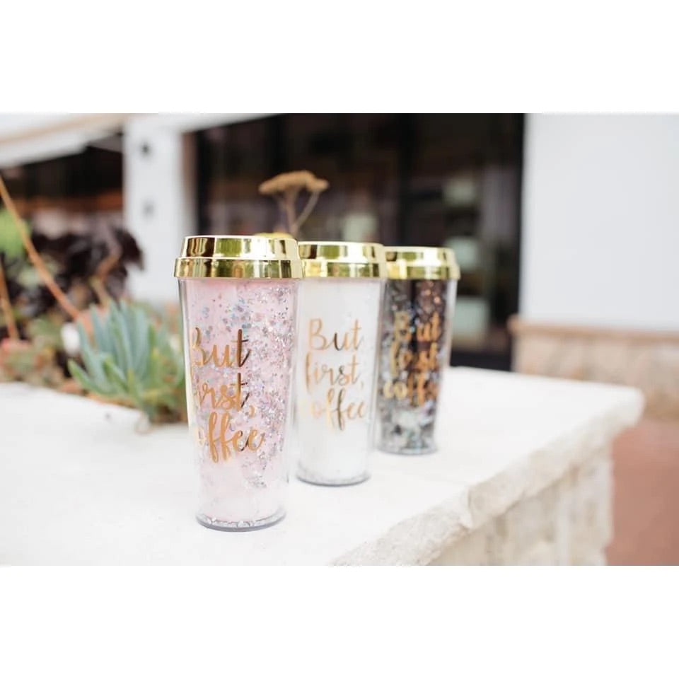 Glitzy Babe Tumblers (Multiple Options)