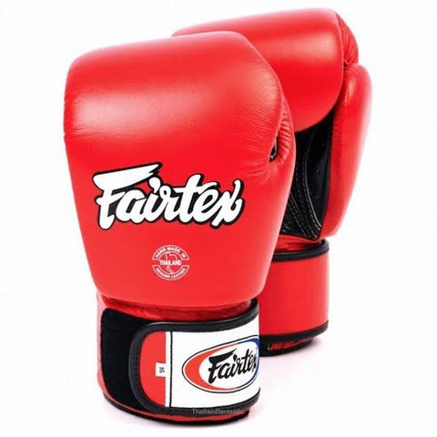 Guante Fairtex rojo 16 oz