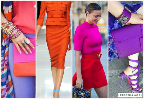 Mixing Bold Colors