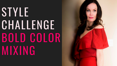 Style Challenge | How to Mix Bold Colors Together in an Outfit