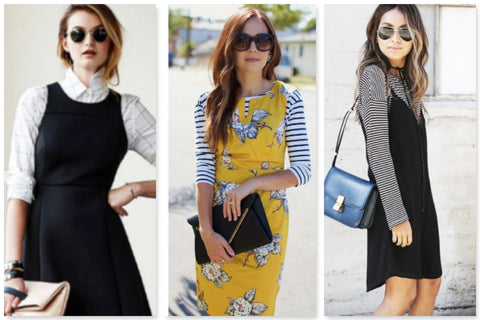 Shirts-Under-Dresses-Spring-Style
