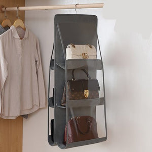 VIP Handbag Organizer in Grey - Working Look