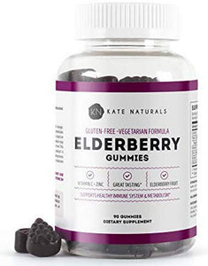 Elderberry Gummies for Adults & Kids (90 Gummies)