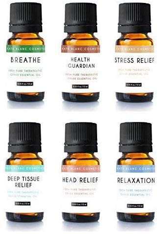 Aromatherapy Essential Oil Blend (Set of 6)