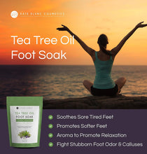 Tea Tree Oil Foot Soak With Epsom Salt