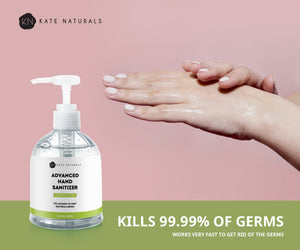Hand Sanitizer Gel Lemongrass Scent. 2 Large 16.9oz Bottles (33.8oz Total). 75% Alcohol Kills 99% Germs & Bacteria.
