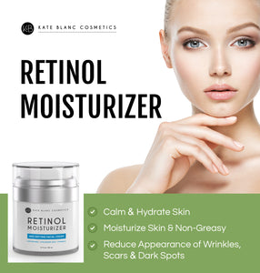 Retinol Moisturizer Cream for Face & Eye