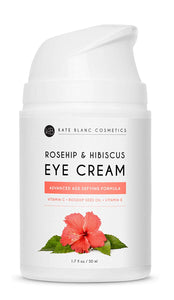 Eye Cream Moisturizer with Hibiscus and Rosehip