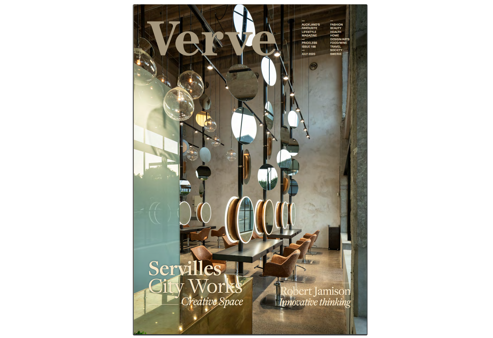 As Featured on Verve Magazine's July Issue - Click here to read