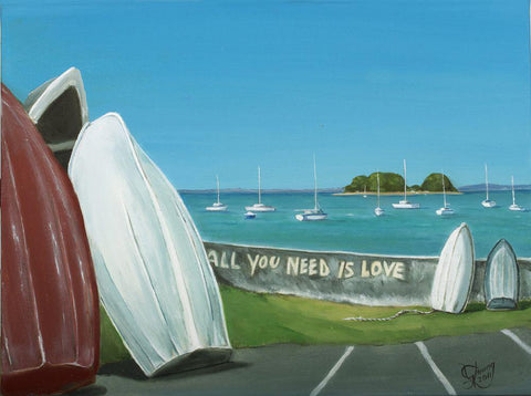 All You Need Are Boats Prints - grahamyoungartist.com - Original Artwork and Prints by New Zealand Artist Graham Young
