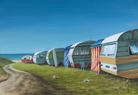 Caravan Avenue Prints - grahamyoungartist.com - Original Artwork and Prints by New Zealand Artist Graham Young