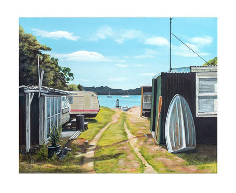 Fisherman's Haven Prints - grahamyoungartist.com - Original Artwork and Prints by New Zealand Artist Graham Young