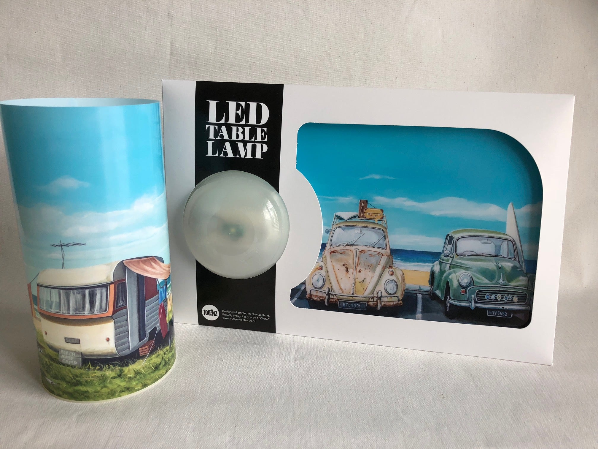 LED Table Lamp - grahamyoungartist.com - Original Artwork and Prints by New Zealand Artist Graham Young